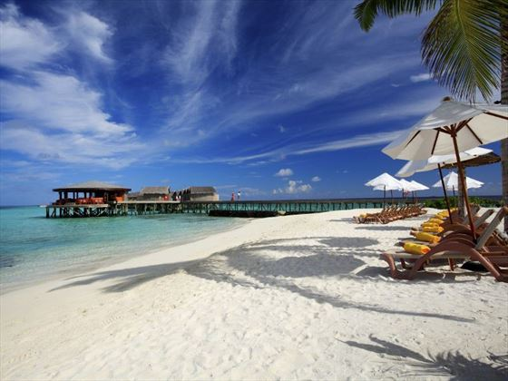 Centara Ras Fushi Resort & Spa beach view