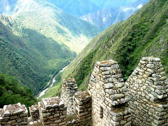 Chachabamba Inca trail