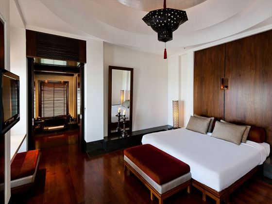 The Chedi - Oman: Chedi Club Suite bedroom