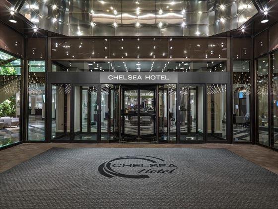 Chelsea Hotel entrance