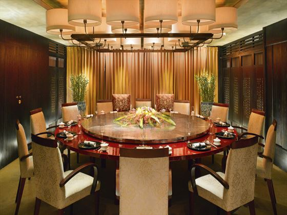 China Mood private dining at Al Bustan Palace