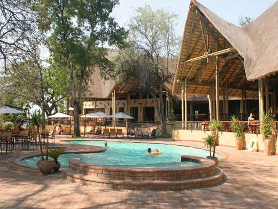 Chobe Safari Lodge swimming pool