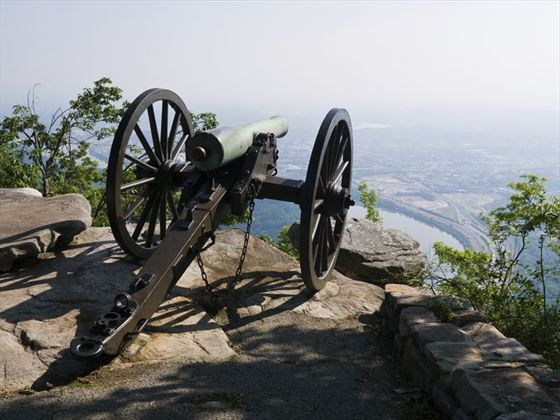 Civil war observation point, Chattanooga
