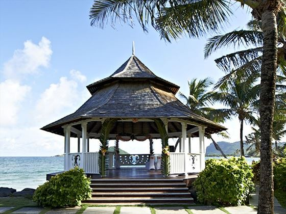 Oceanfront Gazebo at Coconut Bay