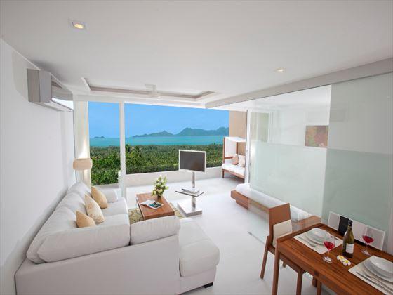 Code Two-bedroom Suite living area