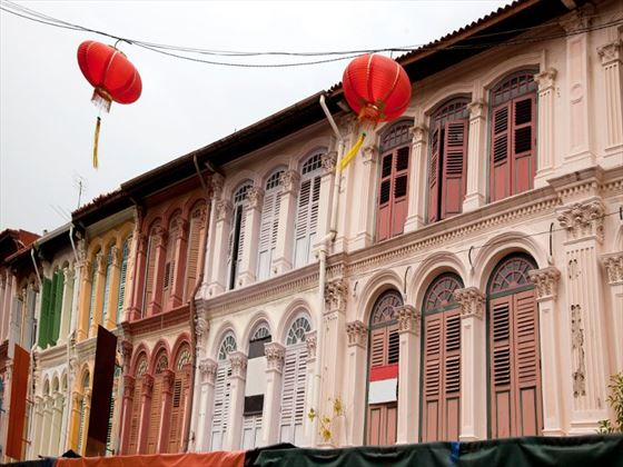Colonial houses in Singapore