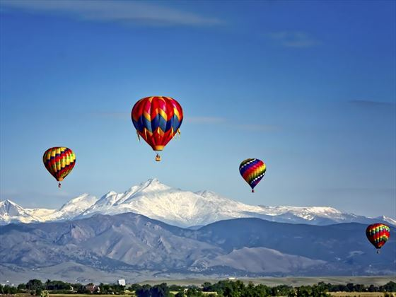 Hot air balloon festival, Colorado Springs