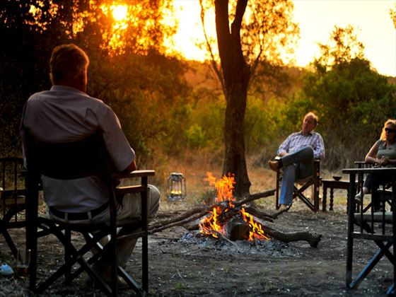 Round the Camp Fire at Nairobi Tented Camp