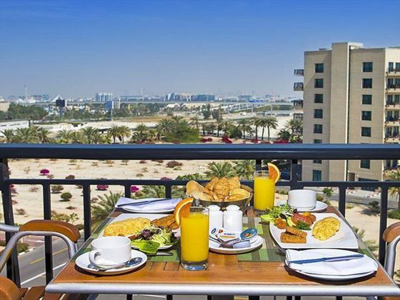 Continental breakfast at Arabian Park Hotel