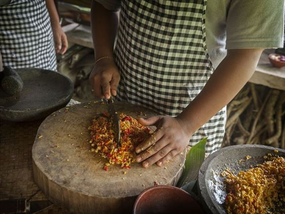 Cooking class in Bali