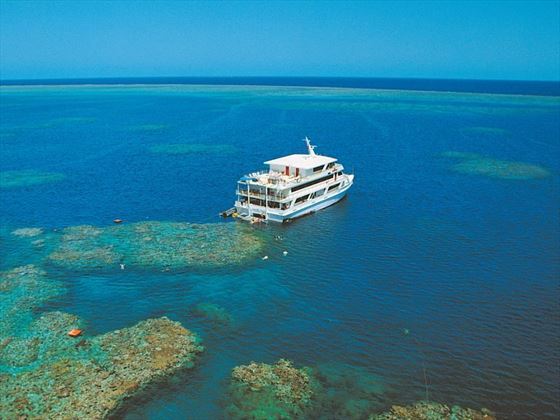 Cruising the Great Barrier Reef