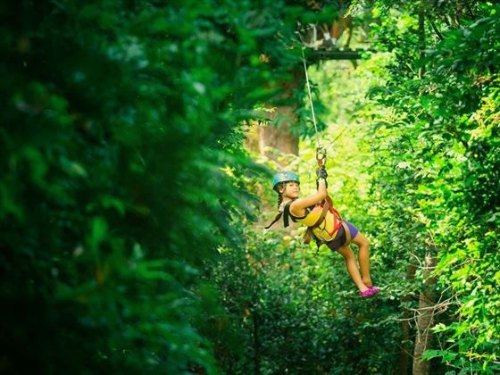 Rainforest Zipline Adventure, Costa Rica