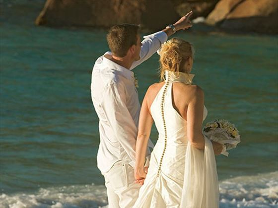 Beautiful weddings at Constance Lemuria