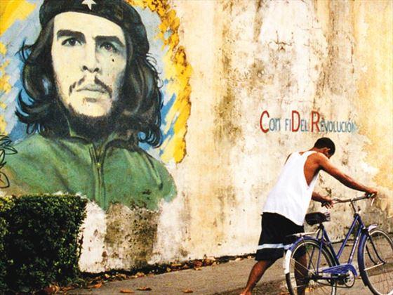 Che Guevara street art