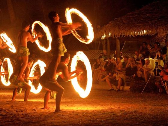 Cultural shows at Nautilus Resort