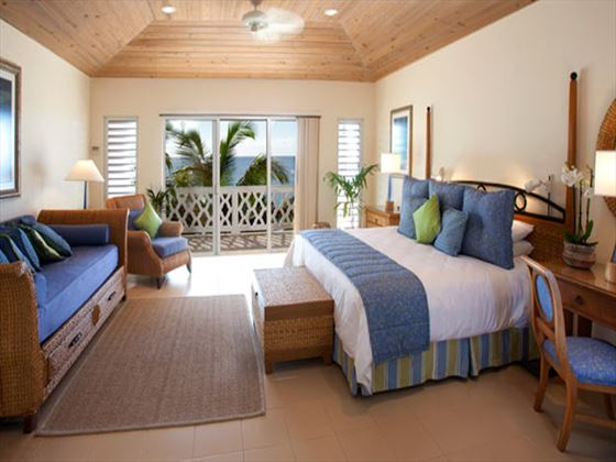 Curtain Bluff Executive Deluxe Room