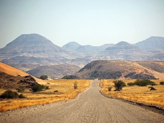 Scenic Roads in Damaraland, Namibia