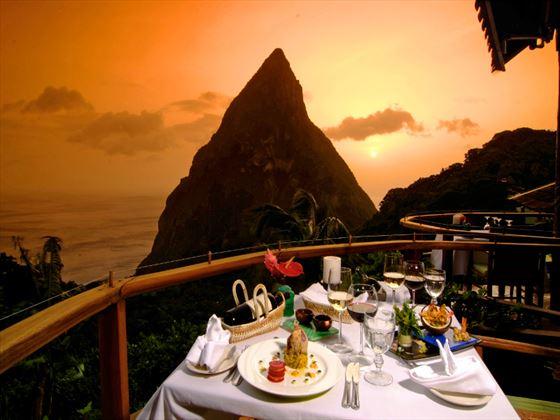 Dasheene restaurant at Ladera Resort