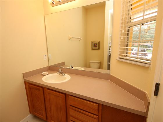 Disney Area townhouse downstairs bathroom