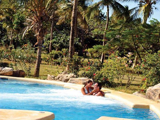 Relaxing honeymoon moments