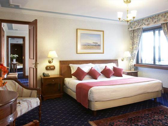 Delamere Suite bedroom at Sarova Stanley