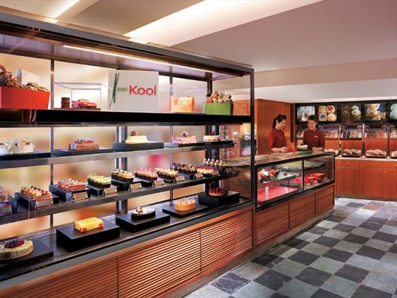 Deli Kool bakery at Kowloon Shangri-La