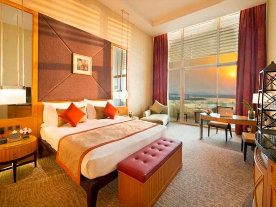 Deluxe Gulf room at Al Raha Beach Hotel