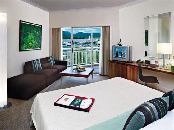 Deluxe Marina View Room at Shangri-La Cairns