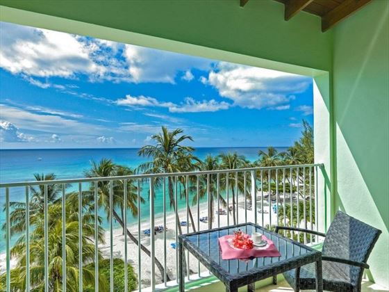 Deluxe Ocean Front Room Balcony View