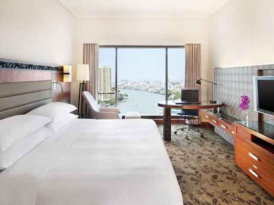 Deluxe Premium River View Room at Royal Orchid Sheraton