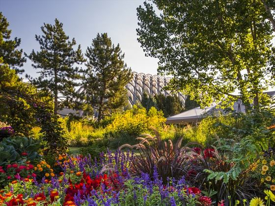 Denver Botanic Gardens in Cheesman Park