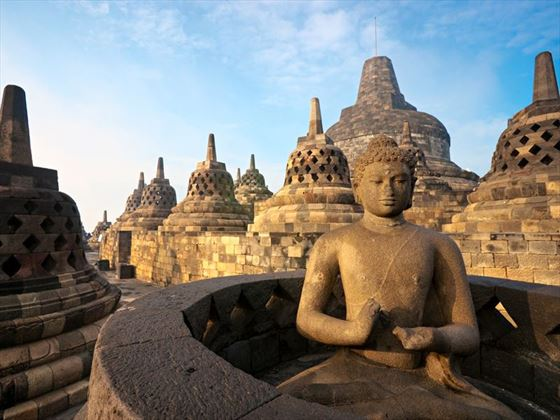 Sunset at Borobudur