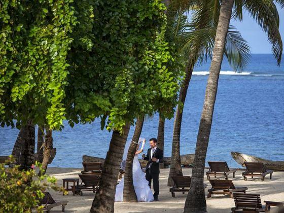 Beautiful wedding setting at Diamonds Dream of Africa