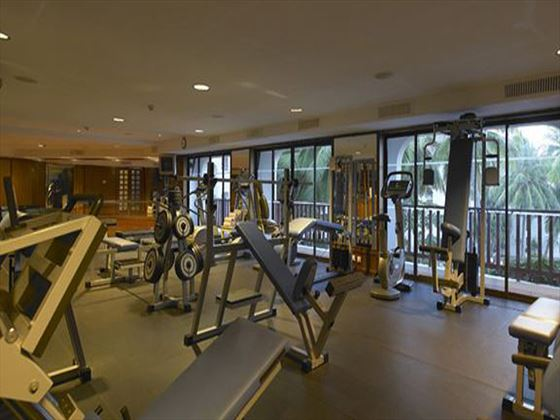 Diani Reef Beach Resort and Spa gym