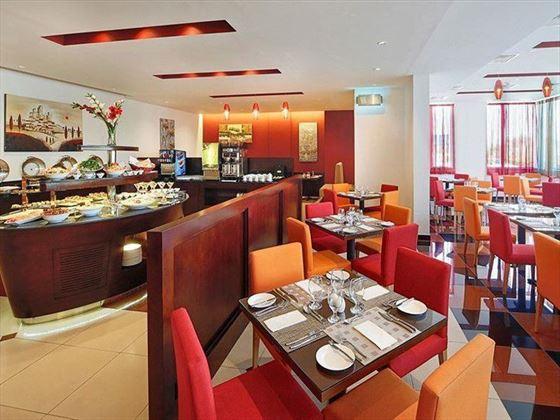 Dining at Arabian Park Hotel