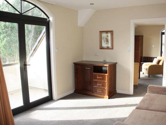 Inside a room