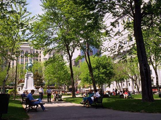 Dorchester Square Montreal Canada