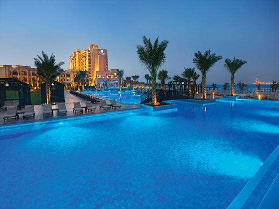 DoubleTree by Hilton Resort & Spa, Marjan Island - Villa Pool