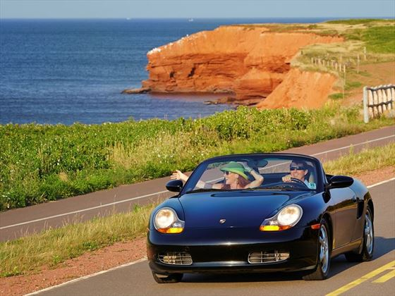 Driving in Prince Edward Island National Park