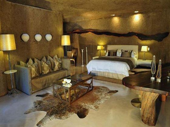 Earth Lodge Standard Suite at Sabi Sabi Private Game Reserve