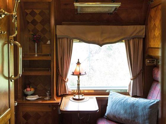 Eastern & Oriental Express Pullman Cabin