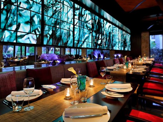Euazone restaurant at One&Only Royal Mirage Arabian Court