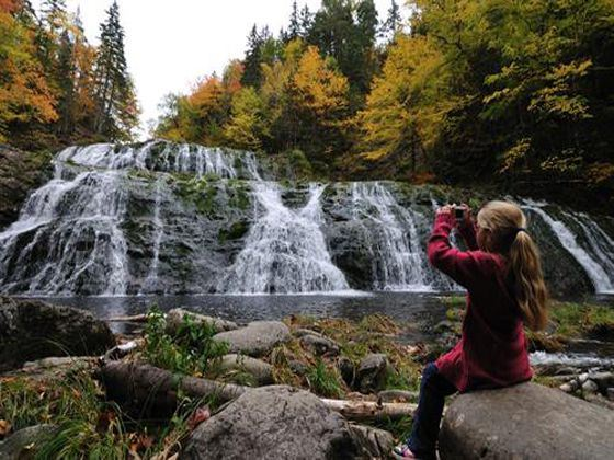 Egypt Falls in Cape Breton