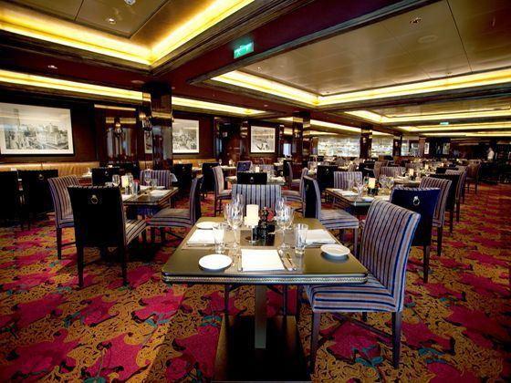 Norwegian Epic Cagney's Steakhouse