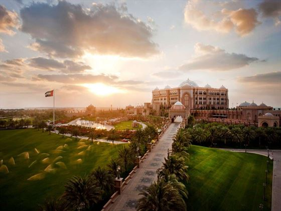 Exterior view of Emirates Palace