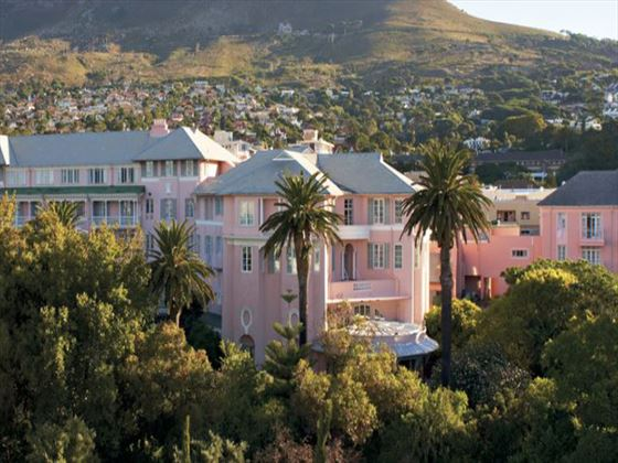 Exterior view of Mount Nelson, Cape Town