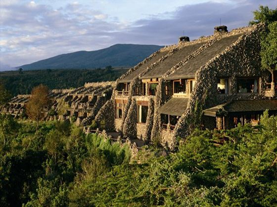 Exterior view of Ngorongoro Serena Safari Lodge