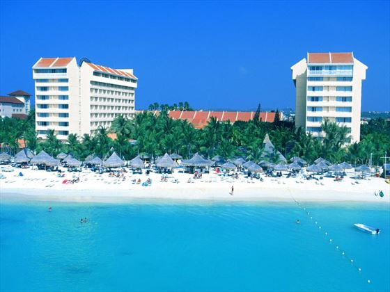 Exterior view of Barcelo Aruba