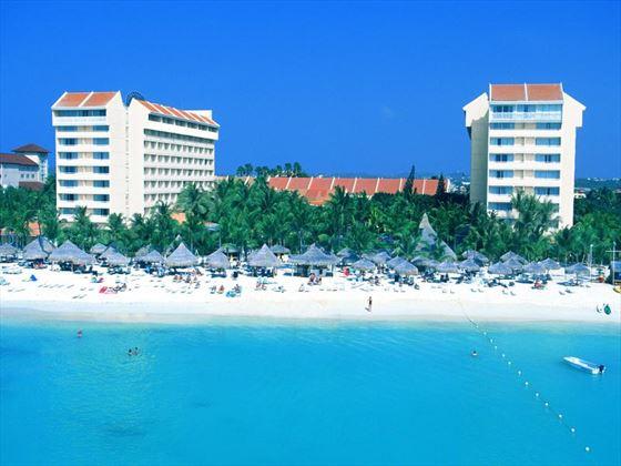 Exterior view of Barcelo Aruba