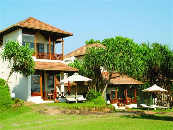 Exterior view of Saman Villas